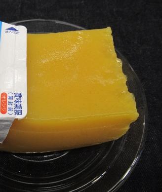 紙パックで作るオレンジジュースゼリー